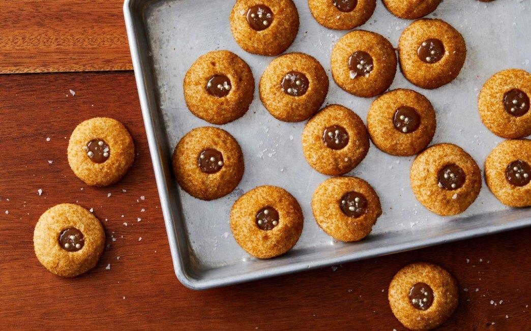 Salted Butterscotch Thumbprints