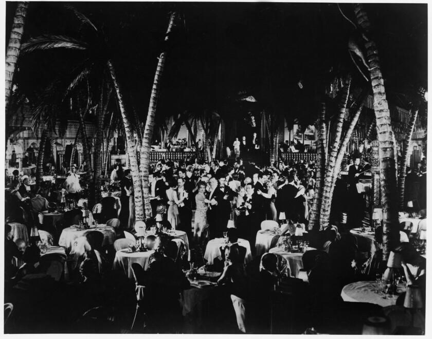 At the Ambassador, circa 1930