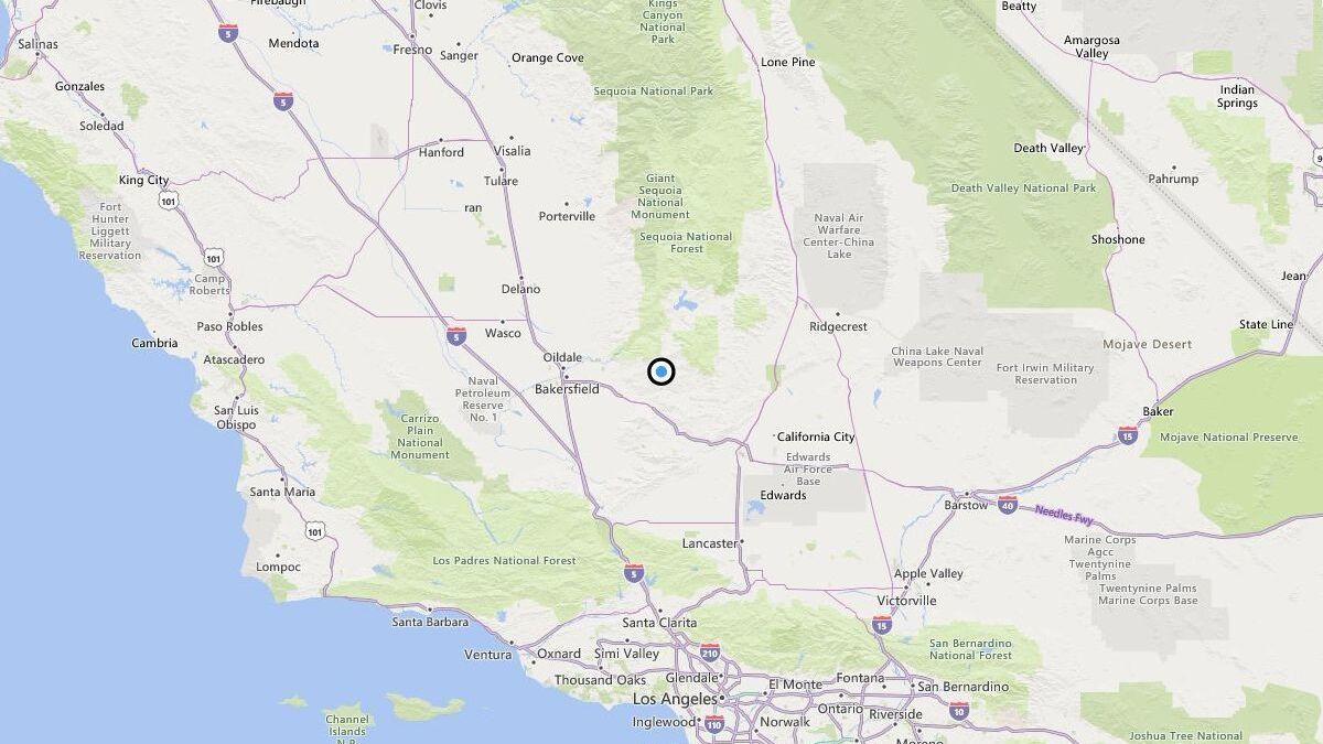 Earthquake: 3 4 quake strikes near Fig Orchard, Calif  - The