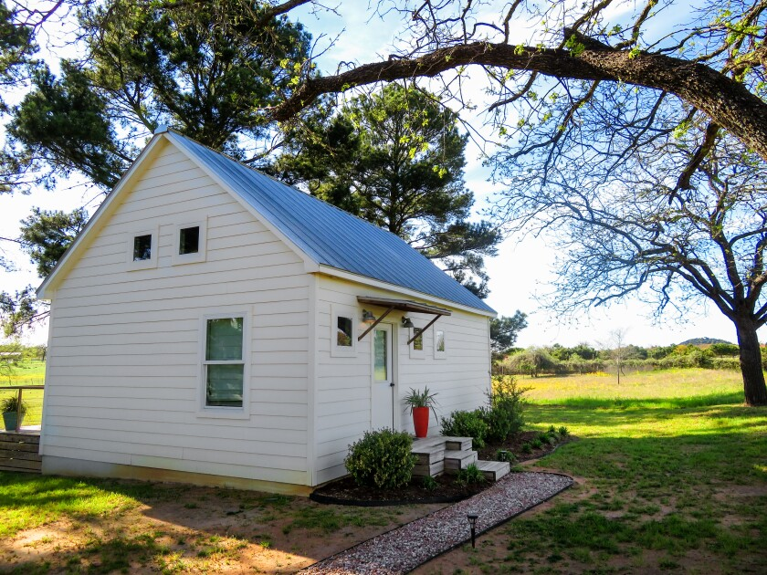 In Fredericksburg, Texas, staying in tiny houses brings big pleasures