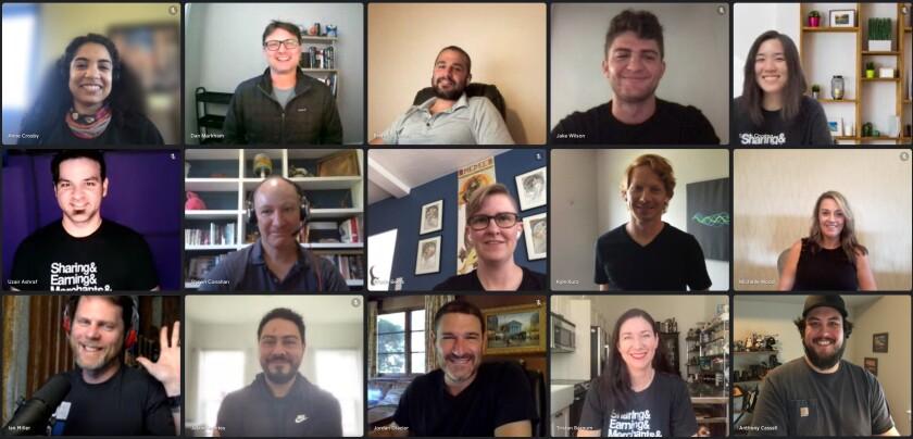 Wildfire Systems team, including CEO Jordon Glazier, bottom row center.