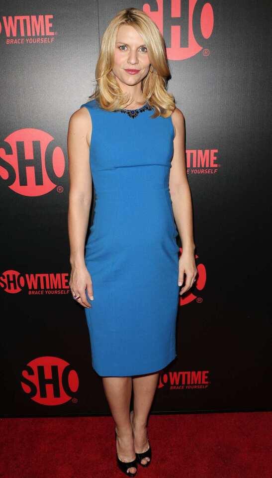 """Homeland"" actress Claire Danes."