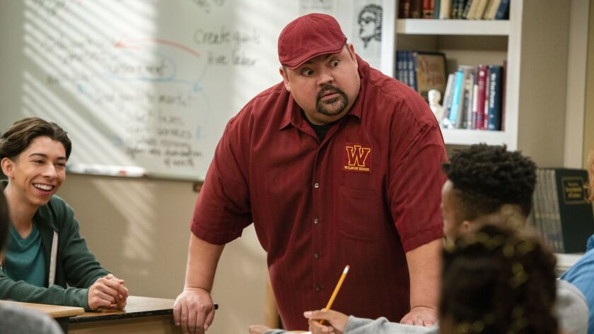 """Comedian Gabriel Iglesias plays a Long Beach history teacher fending off trouble from above and offering a helping hand below in the Netflix comedy """"Mr. Iglesias."""""""
