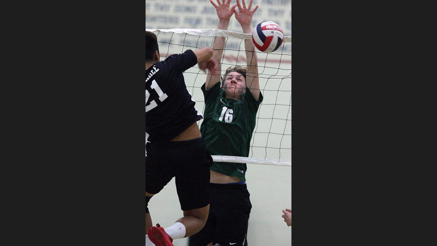 Photo Gallery: Glendale vs. Providence non-league boys' volleyball