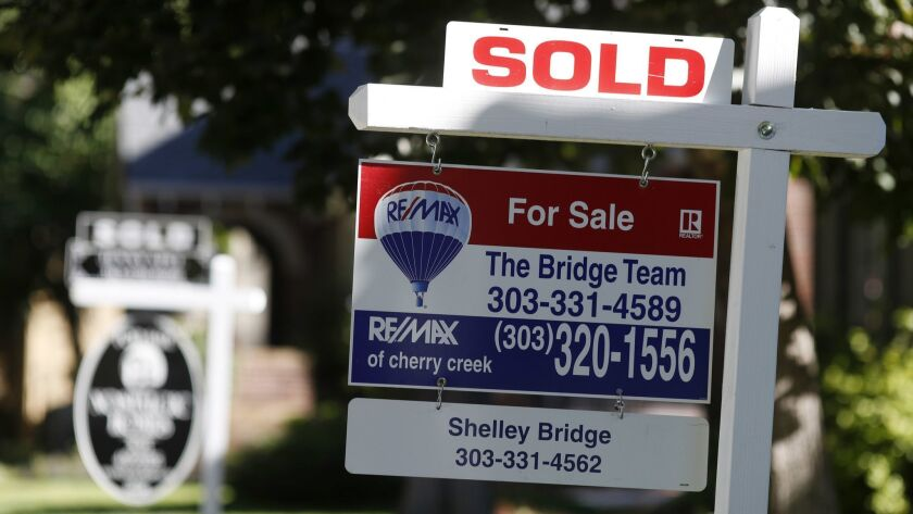 Sold signs for homes, r m