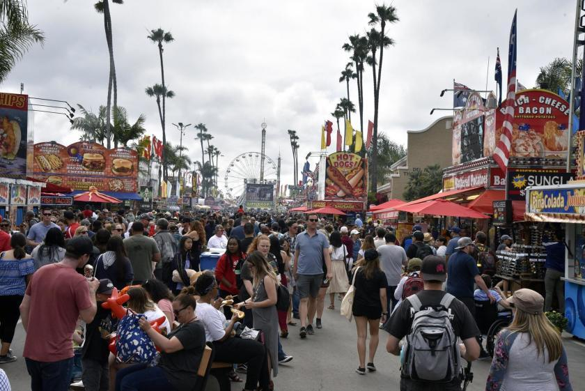 A scene from the San Diego County Fair in 2019, prior to the Covid-19 pandemic.