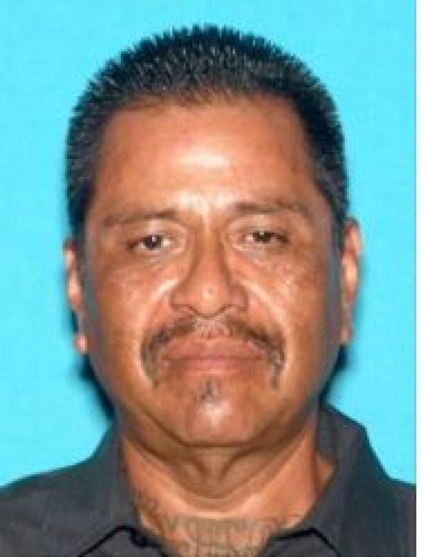 Police believe David Flores, 58, shot another man in Chula Vista in early July during a property dispute.