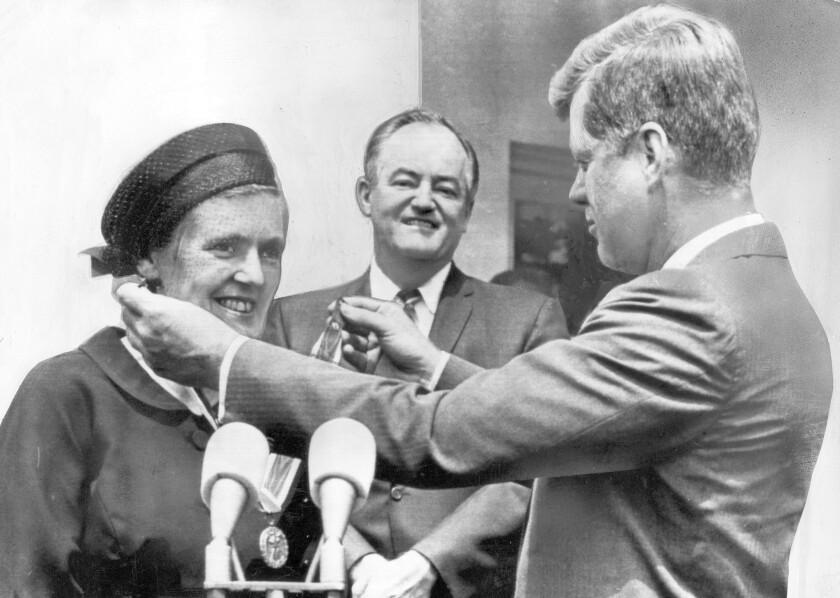 Frances Kelsey obituary
