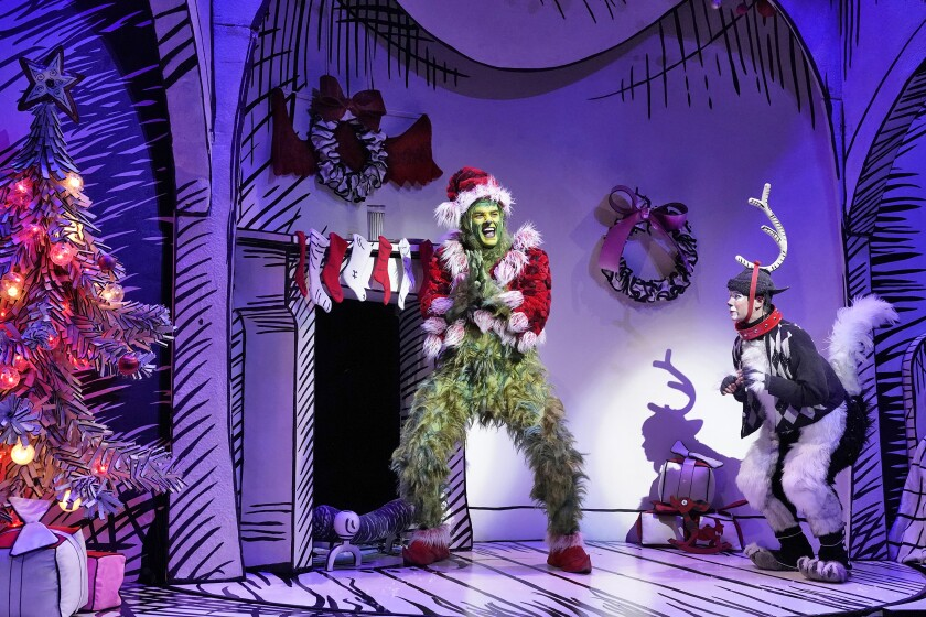 Theater in L.A. this week: 'The Grinch,' 'Key Largo' and more