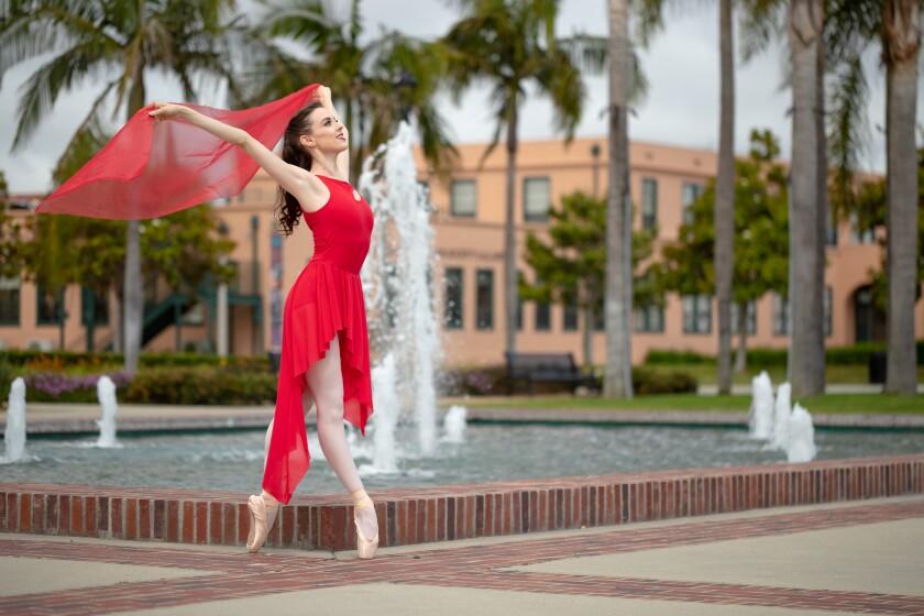 San Diego Ballet dancer Stephanie Maiorano