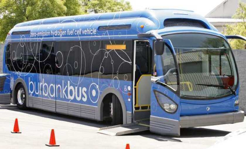 High-tech bus to roll into Burbank