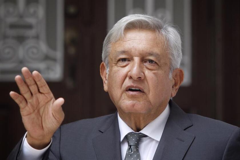 La coalición del presidente electo de México, Andrés Manuel López Obrador, controlará el 62 % de la Cámara de Diputados y el 53 % del Senado, según la asignación de diputados y senadores de partido aprobada hoy por la autoridad electoral. EFE/ARCHIVO