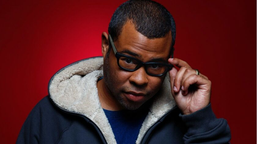 "Jordan Peele, director of the horror movie ""Get Out."""
