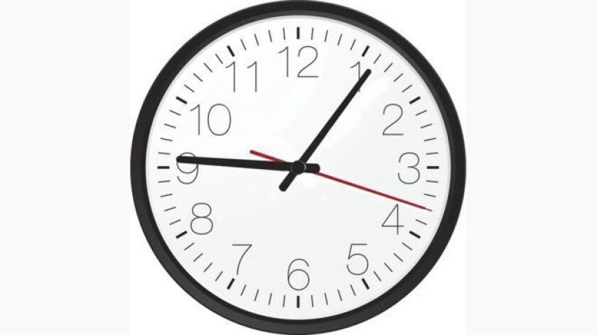 Ni a las 9 ni a las 9.05: el trabajo arranca seis minutos después de las 9. Y hay una razón...