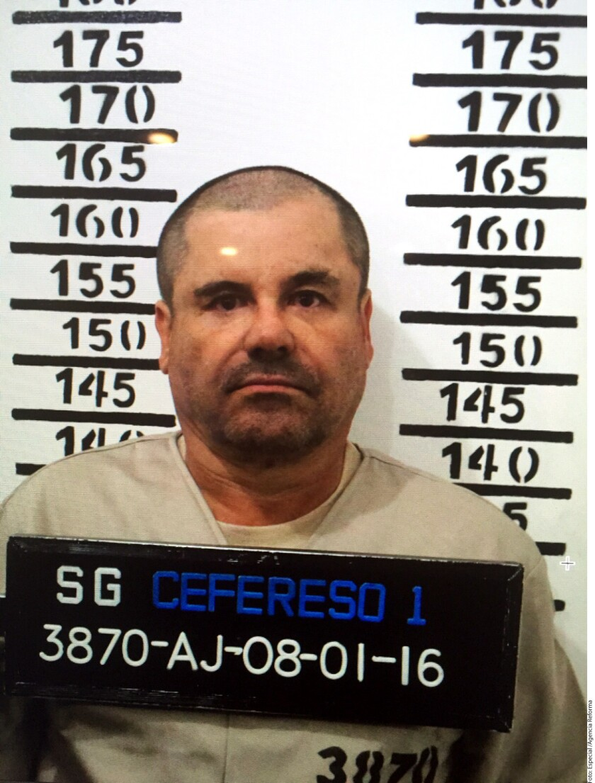 Foto de archivo de 'El Chapo'. José Refugio Rodríguez, abogado del presunto capo del Cártel de Sinaloa, dijo que su defensa trabaja sobre dos escenarios: impedir a toda costa su extradición, pero, en paralelo, explorar la posibilidad de un posible acuerdo con Estados Unidos que no implique dejar al descubierto a terceros.