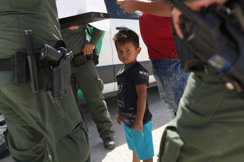 Border Patrol agents interviewing families for 'credible fear,' instead of asylum officers