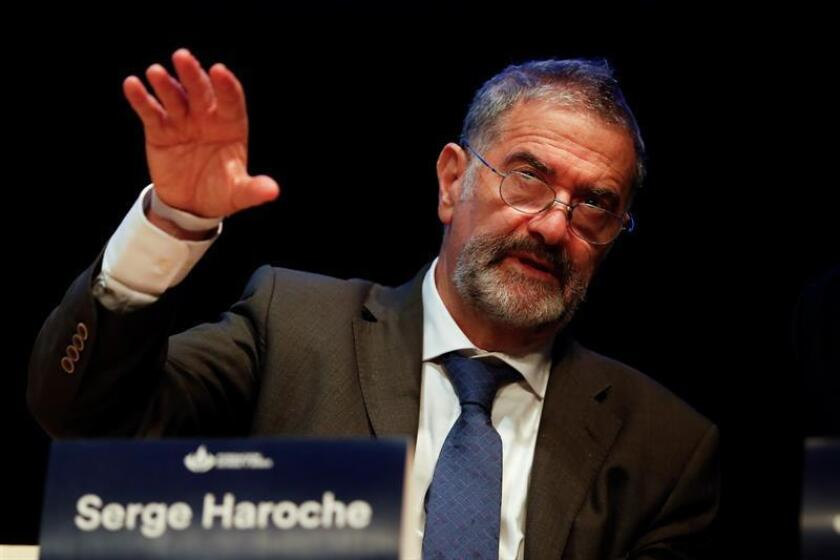 Serge Haroche, co-recipient of the Nobel Prize in physics in 2012. EPA-EFE/File