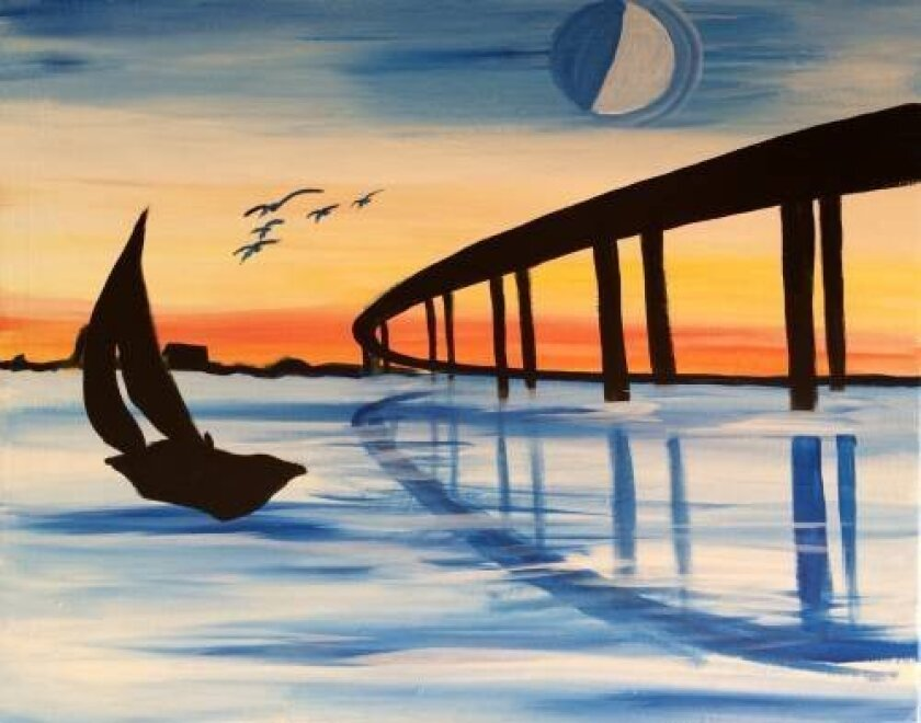 Featured painting: Coronado Bridge