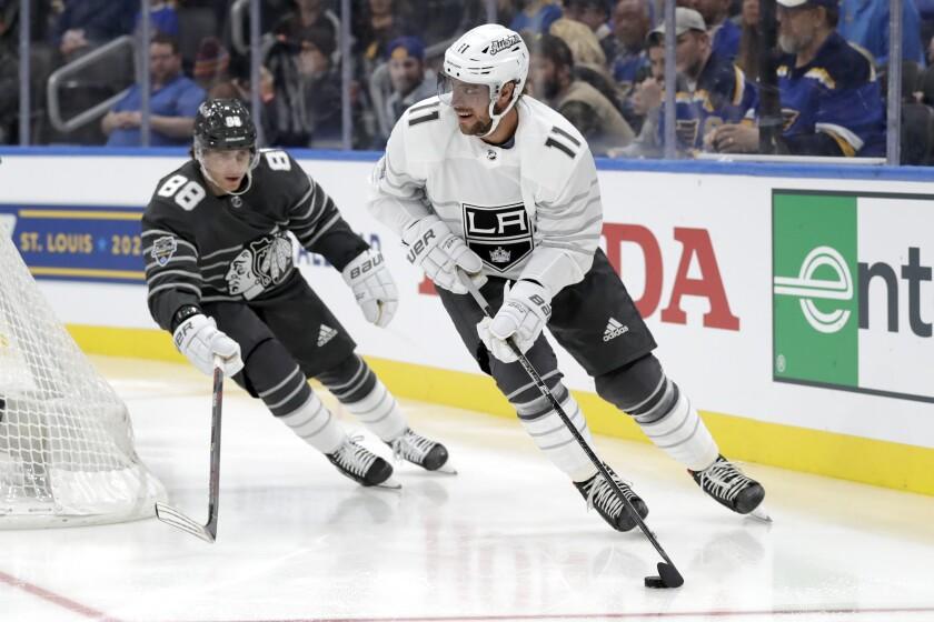 Column: Kings' Anze Kopitar, Sharks' Tomas Hertl become buddies in NHL All-Star tournament