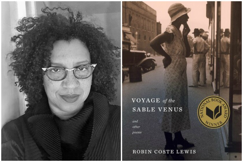 """Robin Coste Lewis and her poetry collection, """"Voyage of the Sable Venus."""""""