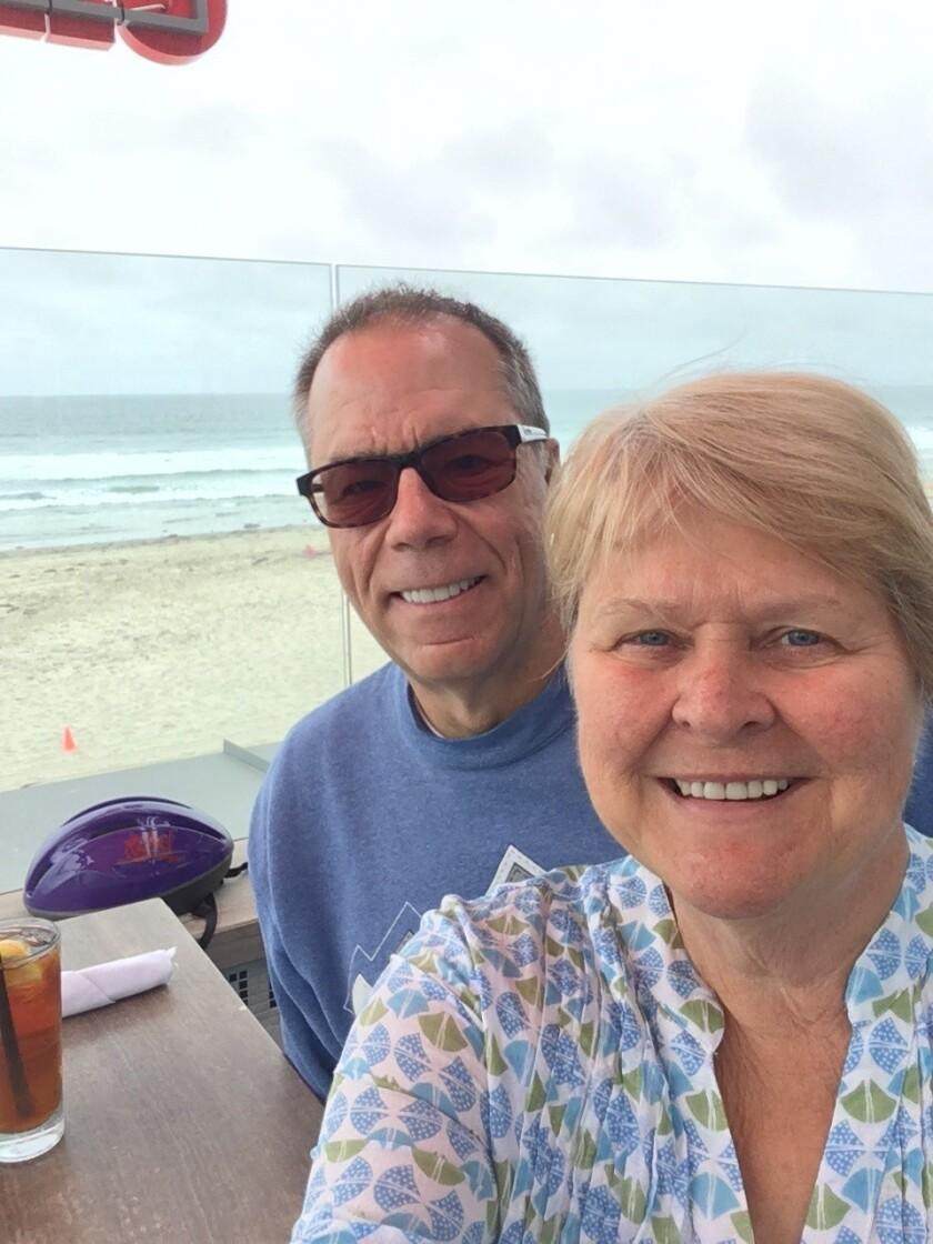 Bob and Ellen Citrano of Pacific Beach. Ellen recently received a heart transplant.