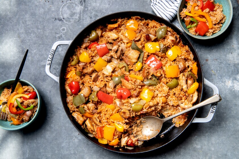 Jollof rice is the ultimate one-pot chicken dinner