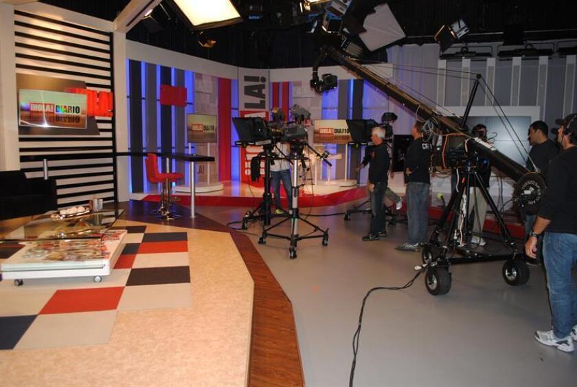 """El canal de televisión Hola TV realizó el 8 de noviembre de 2013 un balance """"satisfactorio"""" de sus primeras seis semanas en el aire, con una programación basada en """"la información de calidad y el respeto"""". EFE/Archivo"""