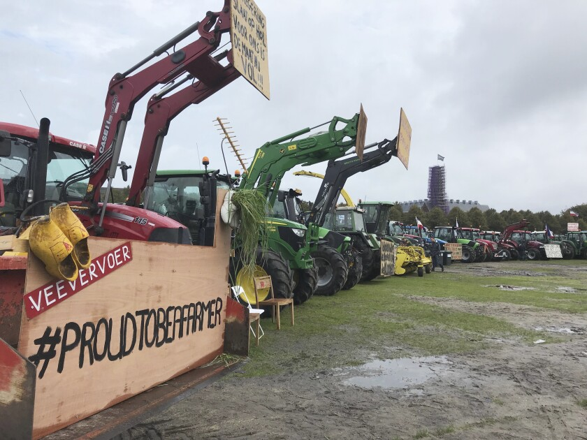 Netherlands Farmers Protest