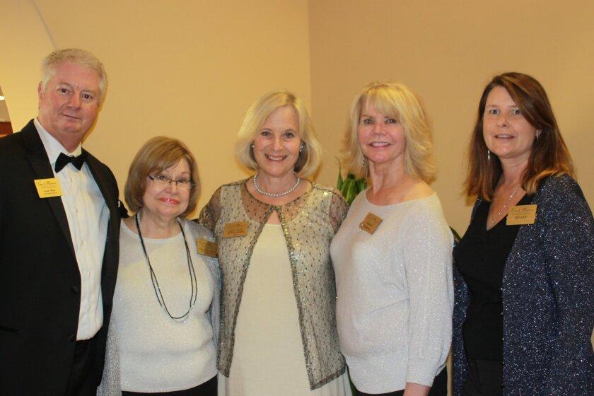 The sales department at Casa de Mañana includes Randy Ward, Carolyn Bissonnette, Betty Willis, Karen Bixler and Kelley Parsons.