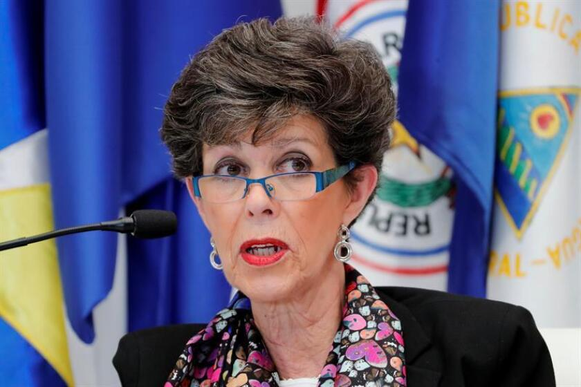 Janine Otálora, presidenta del Tribunal Electoral del Poder Judicial de la Federación (Trife) de México, presentó este miércoles su renuncia al cargo por motivos personales. EFE/Archivo
