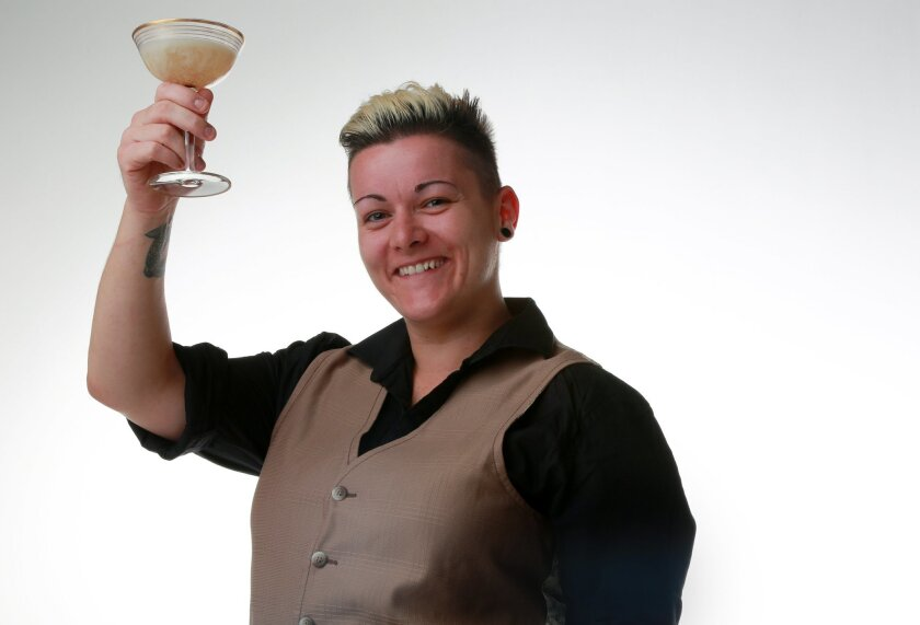 You can find Jen Queen behind the bar at Saltbox.