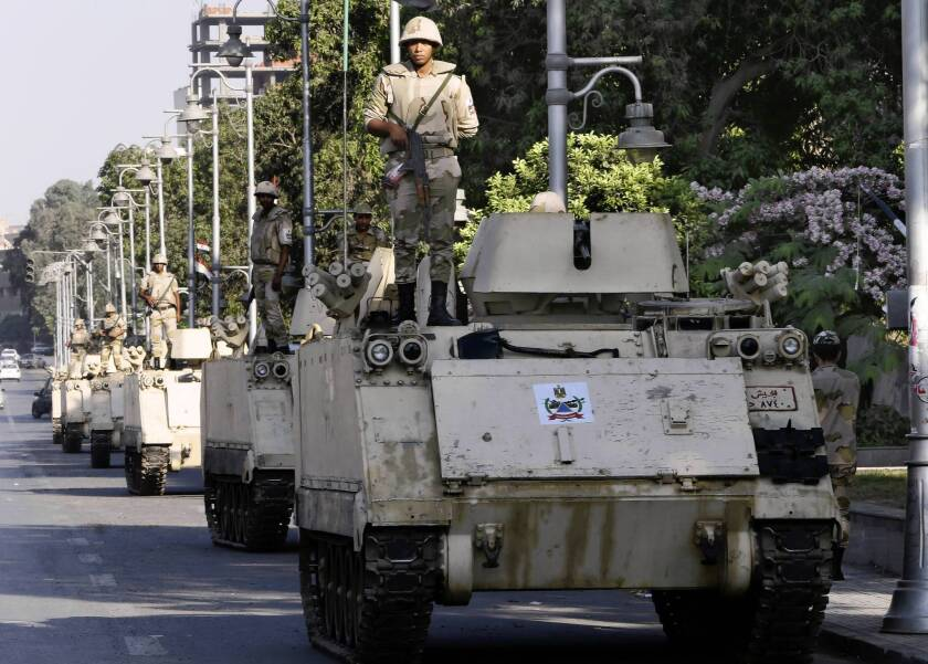 Egypt army defends role in deadly clashes with Morsi supporters