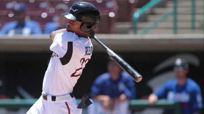 Padres outfield prospect Buddy Reed was an all-star in the California League before he was selected to represent the Padres in the All-Star Futures Game in Washington D.C.