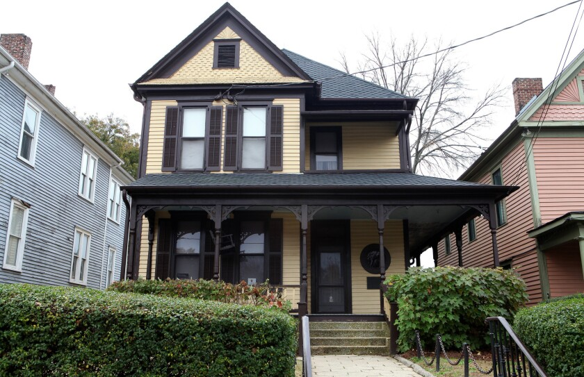 Civil rights leader Martin Luther King Jr. was born in this Atlanta home on Jan. 15, 1929.