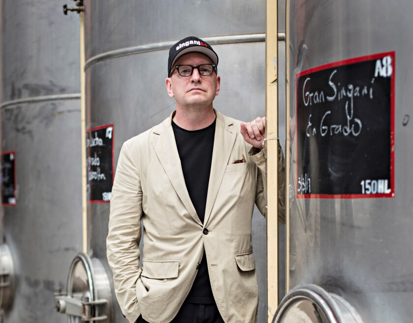 Director Steven Soderbergh's passion project for more than a decade has been bringing the Bolivian spirit Singani 63 to cocktail lovers in the U.S., as well as keeping a supply for himself.