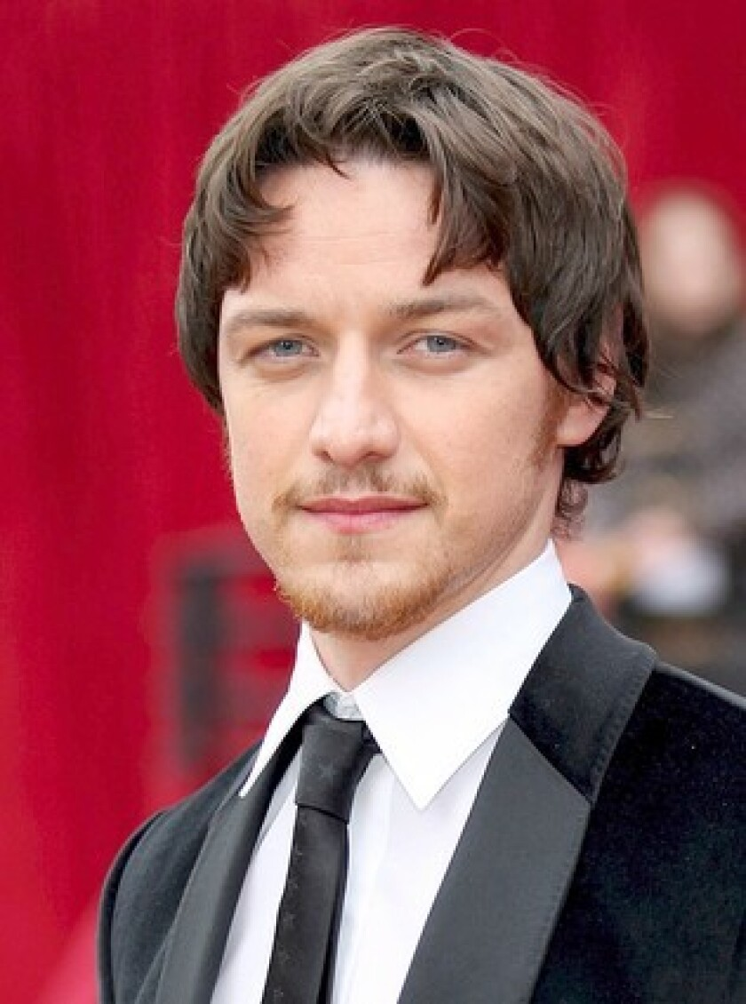 """James McAvoy will voice the role of Morpheus in Audible's forthcoming adaptation of """"The Sandman"""" by Neil Gaiman."""