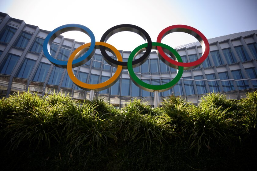 Canada's Olympic committee announced Sunday it will only send athletes to the Tokyo Olympics if the Games are postponed by one year.