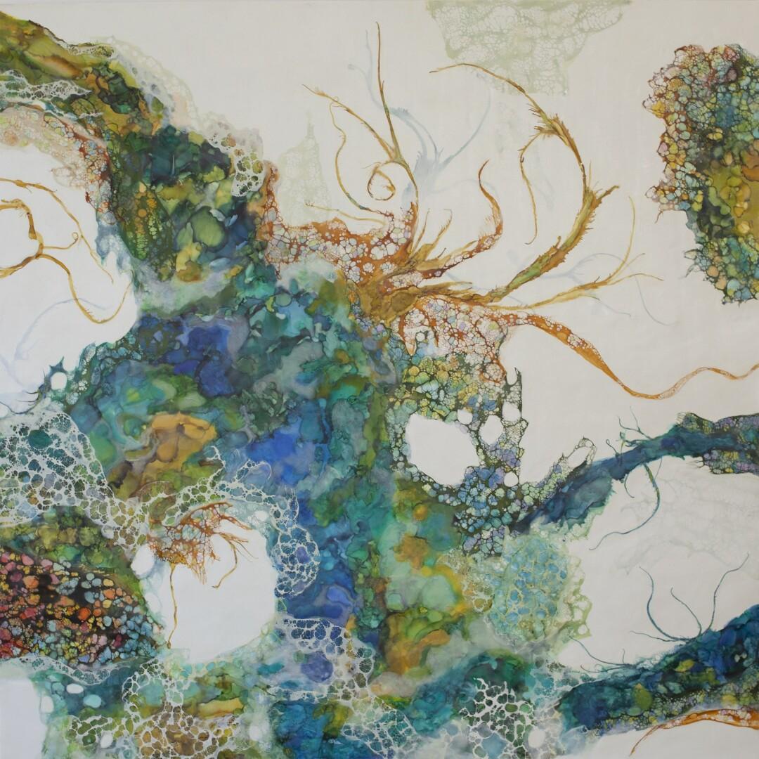 """Amalgamation II"" by Maite Benito Agahnia"