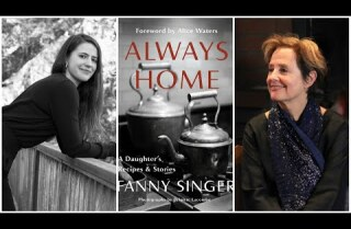 Alice Waters and Fanny Singer live at the L.A. Times Book Club