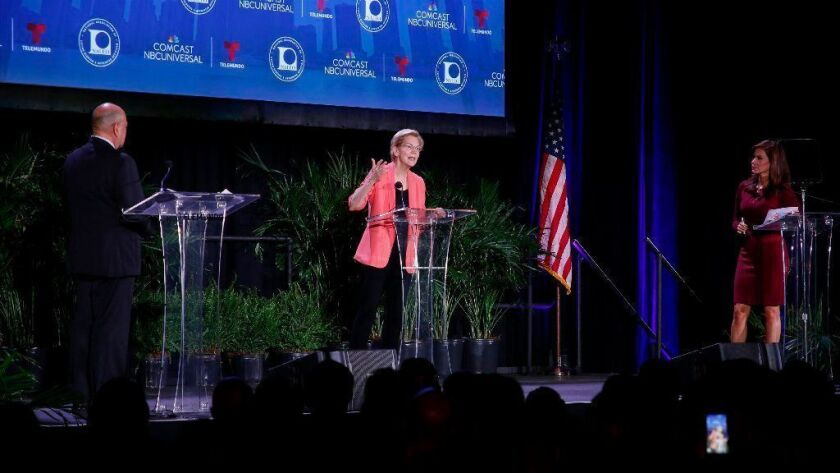 Democratic Presidential Candidates Attend NALEO Candidate Forum In Miami