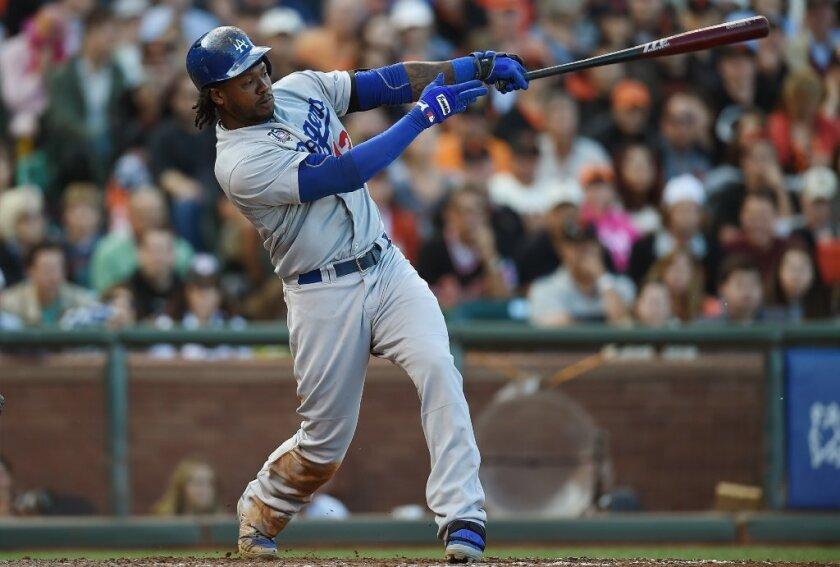 The Dodgers' Hanley Ramirez