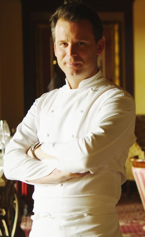 William Bradley, executive chef at Addison and U-T Superdiner.