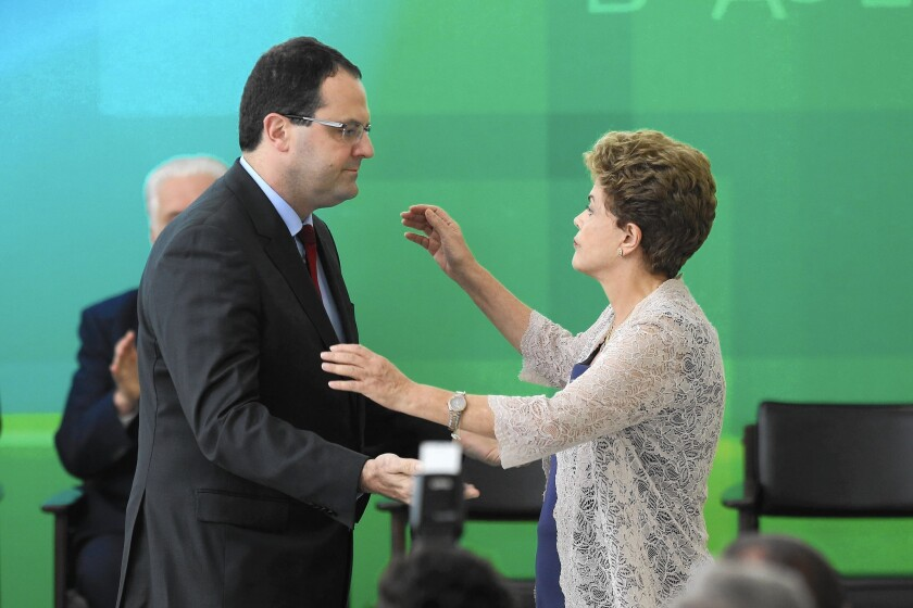 New Brazil finance minister