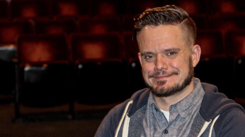 Playwright Mat Smart.