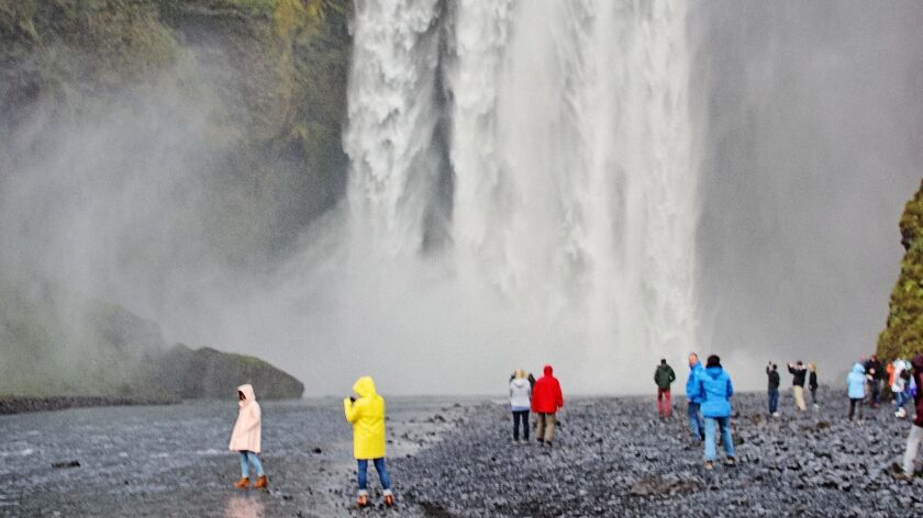 Simple, spectacular Skogáfoss is one of the highlights of the south coast.