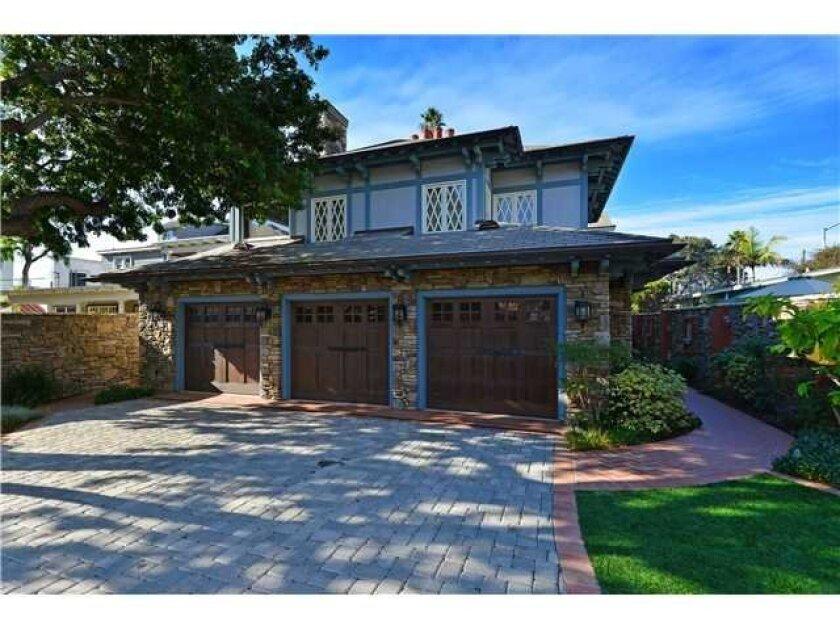 Former Copley home in La Jolla, on Torrey Pines Road near Girard Avenue. Source: Realtor.com