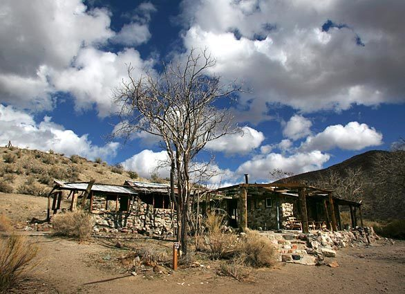 Manson Barker Ranch Death Valley