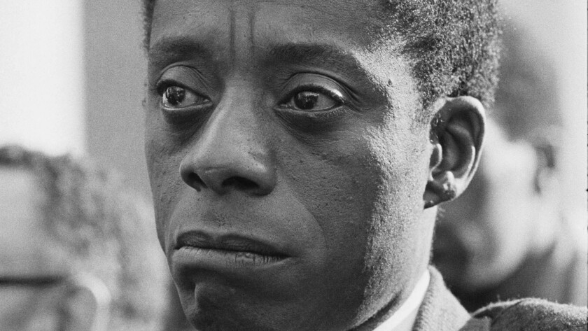 """This image released by Magnolia Pictures shows James Baldwin in """"I Am Not Your Negro."""" The film was"""