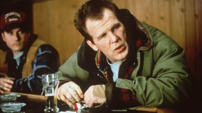 "Wade Whitehouse (Nick Nolte) in a scene from ""Affliction."""