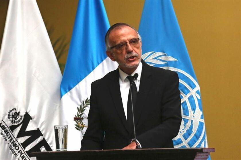 La ONU reiteró hoy que trabaja en el nombramiento de un comisionado adjunto para la Comisión Internacional Contra la Impunidad en Guatemala (Cicig), pero dejó claro que el colombiano Iván Velásquez sigue al frente de ésta. EFE/Archivo